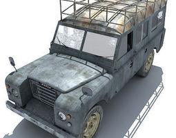 Landrover Classic 3D Model