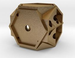 Dice luck 3D printable model