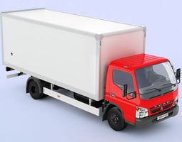 Mitsubishi FUSO Canter hard body 3D Model