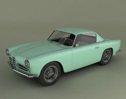Alfa Romeo 1900 CSS 3D model
