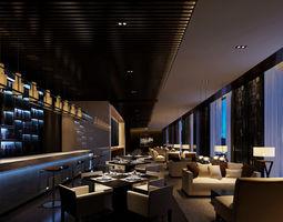 bar-interior Bar 3D model