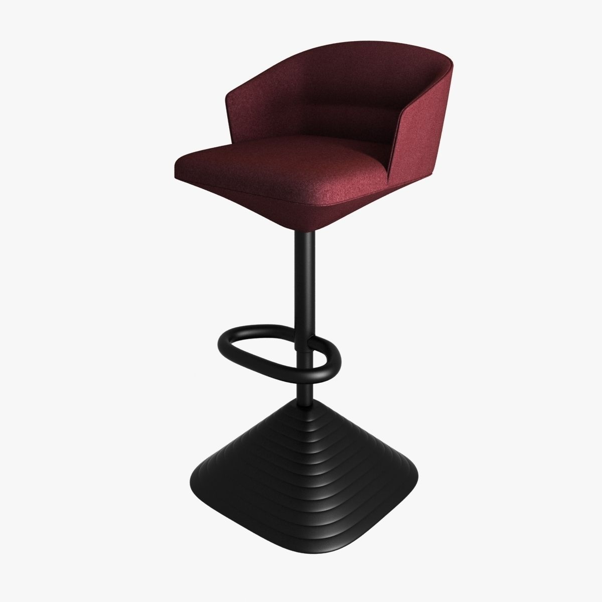 Excellent Tom Dixon Pivot Barstool 3D Model Gmtry Best Dining Table And Chair Ideas Images Gmtryco