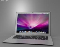 Apple MacBook Air 13 inch 2012 3D Model