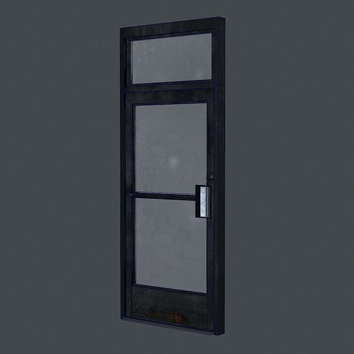 3d model business front door vr ar low poly obj fbx ma for New model front door