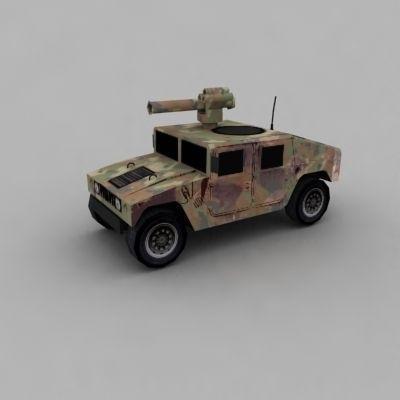 Humvee3D model