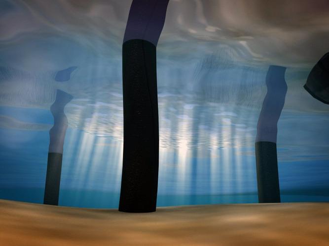 underwater scene 3D Model animated MAX OBJ FBX - CGTrader.com
