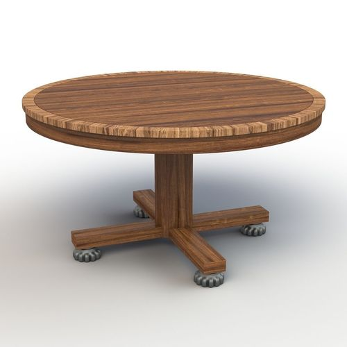 Roung dining table 3d model cgtrader for Dining table latest model