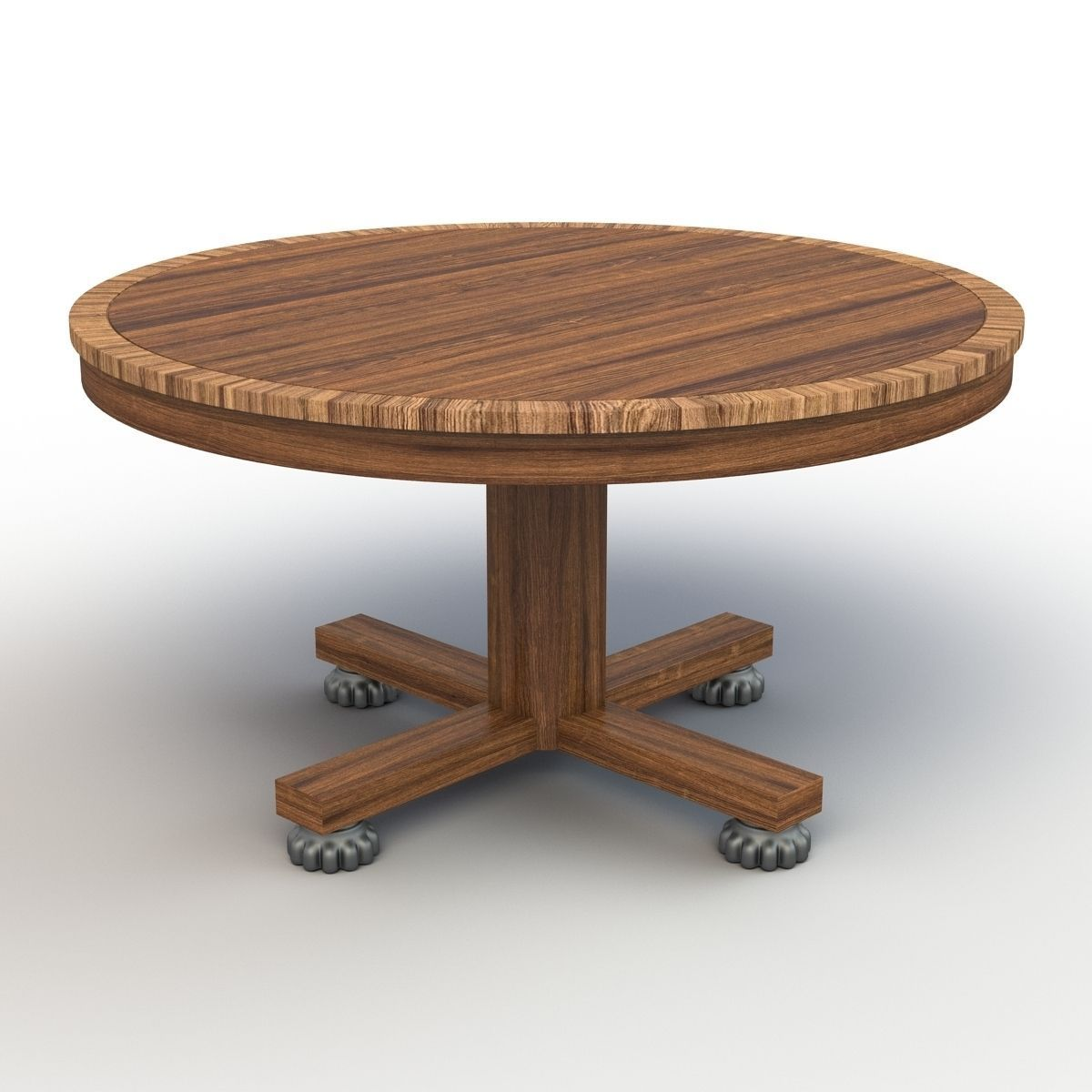 Roung dining table 3d model max obj fbx for Dining table latest model