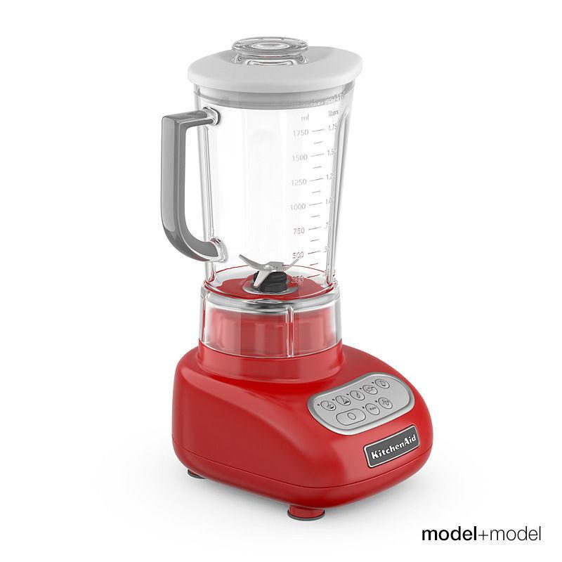 ... Kitchenaid Blender 3d Model Max Obj Fbx Mat 2 ...