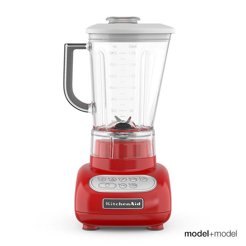 kitchenaid blender 3d model max obj fbx