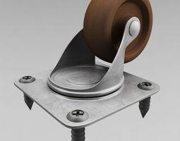 Cabinet wheel 3D Model