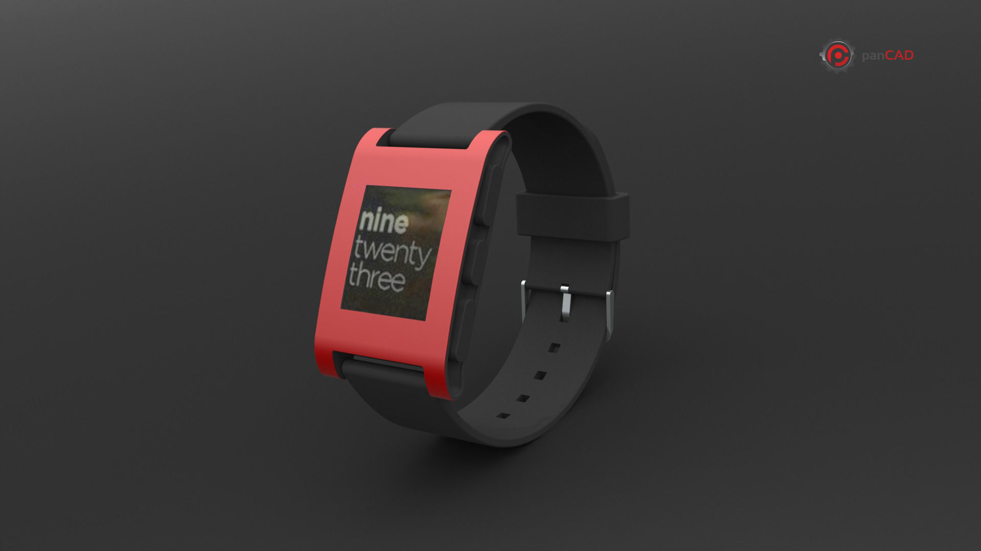 Pebble smart watch 3d model obj 3ds fbx stl dae lxo lxl for Pebble watches