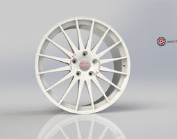 oz wrc superleggera  3d