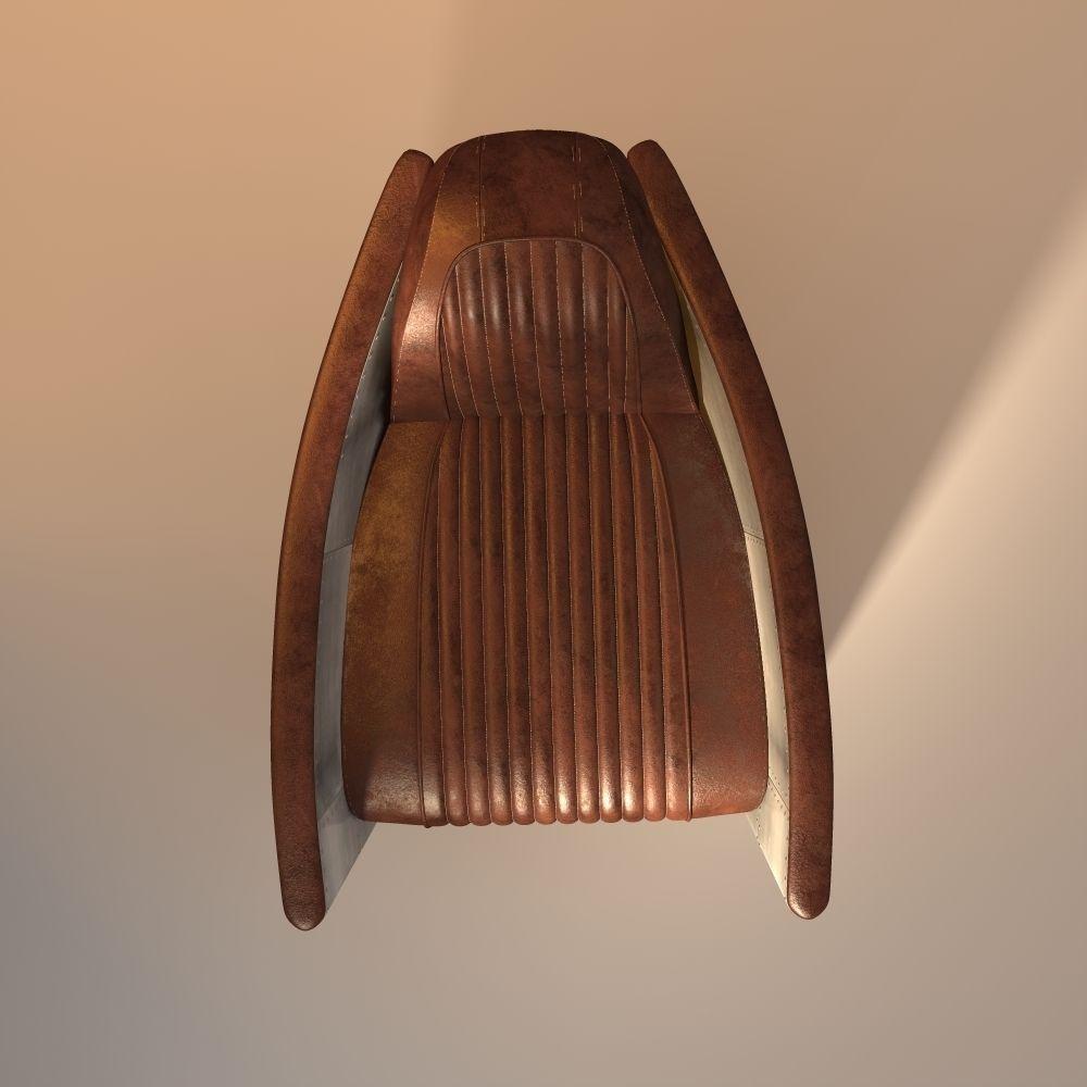 Aviator chair 3D Model obj 3ds fbx 3dm dwg CGTrader