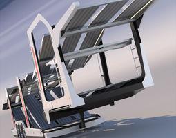 Car Transporter Lohr 300 3D model