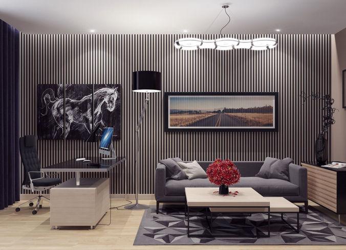 Business room3D model
