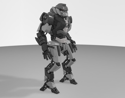 Advanced Robot 2015 3D Model