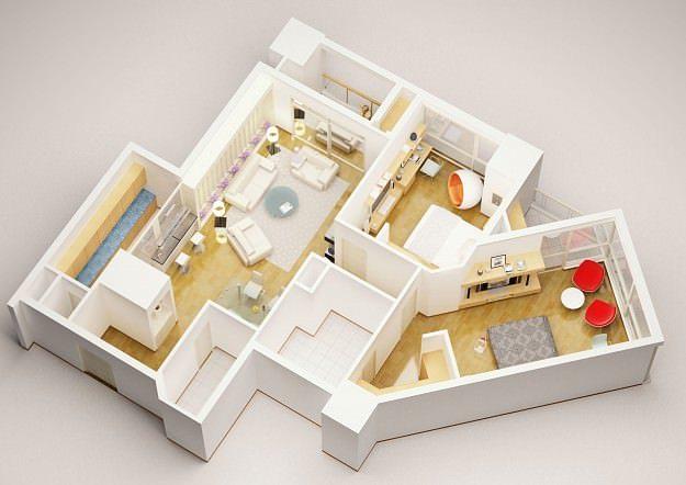 3d Model Detailed House Interior 3 3d Model Max