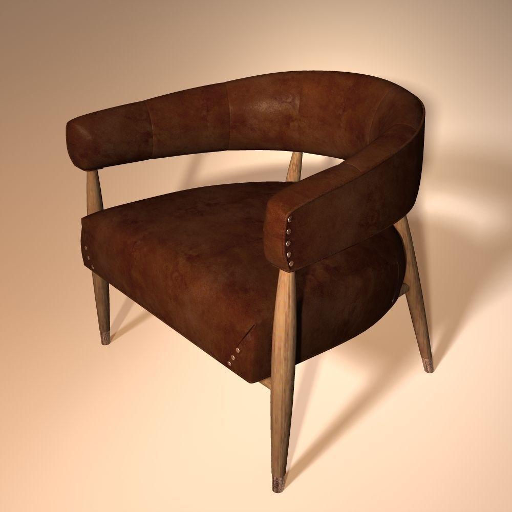 Jensen chair 3d model obj 3ds fbx 3dm dwg for New model chair design