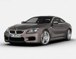BMW M6 F12 2012 3D Model