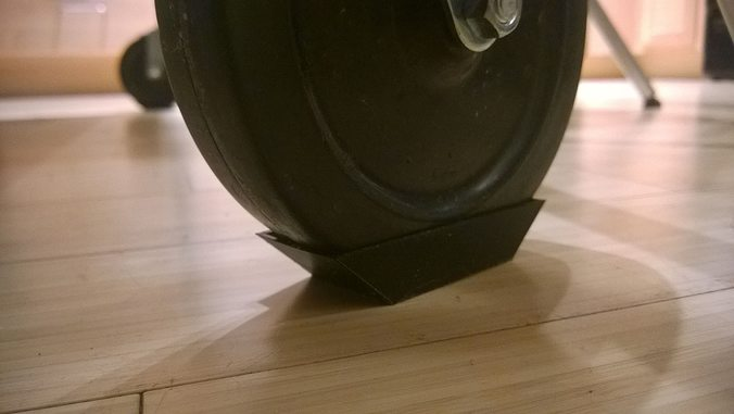 3d Printable Model 029a Device Feet 5 Inch Wheel 2