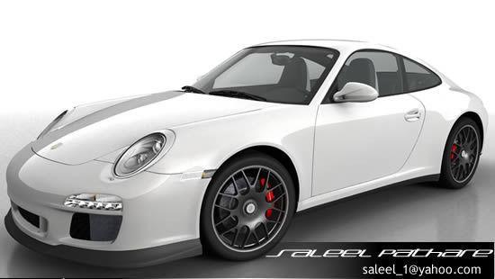 Porsche 911 GTS 20123D model