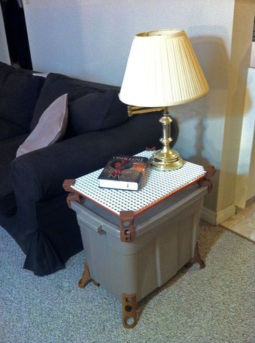 Full Size Printed End Table3D model