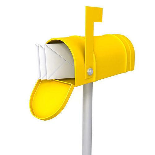 mailbox 01 3d model max obj ma mb 1