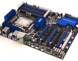 P6T6 Motherboard MR and Vray With or without logos 3D Model