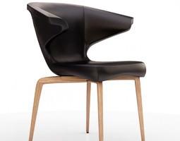 3D model Classicon Munich armchair