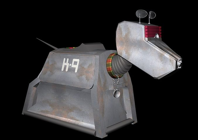 k9 robotic dog 3d model 3d model max obj mtl 3ds 1