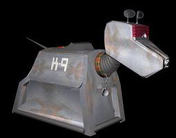 K9 Robotic Dog 3D Model 3D Model