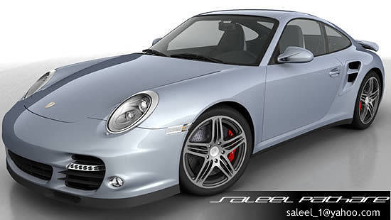 porsche 911 turbo 2012 3d model max obj mtl tga 1