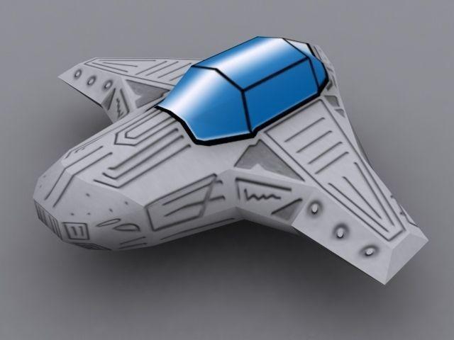 Spaceship 23D model