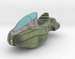 3D printable model Sci-Fi Vehicle