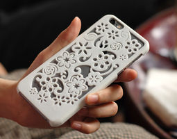 3d printable model flora iphone 6 case