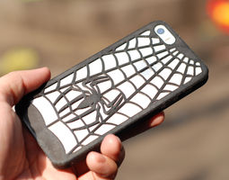 3d printable model spidersuit iphone 5 case