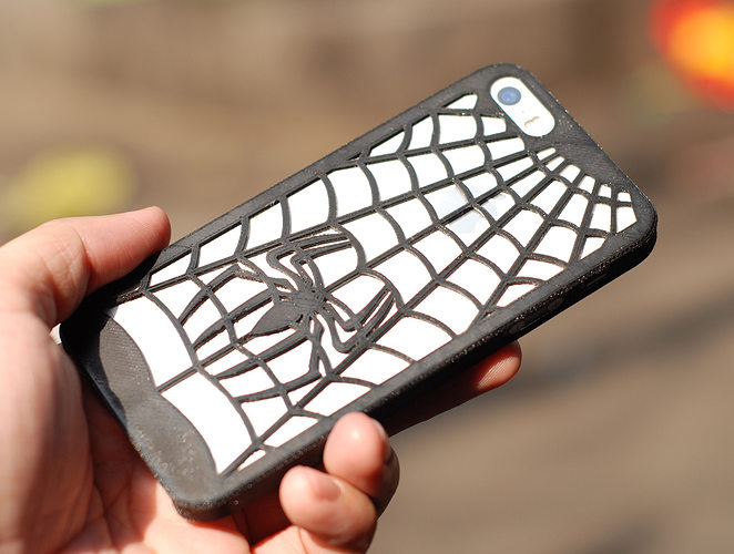 Spidersuit Iphone 5 Case 3D print model