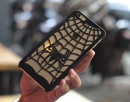 3d print model spidersuit iphone 6 plus case