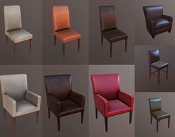 Furniture Pack 3D model low-poly
