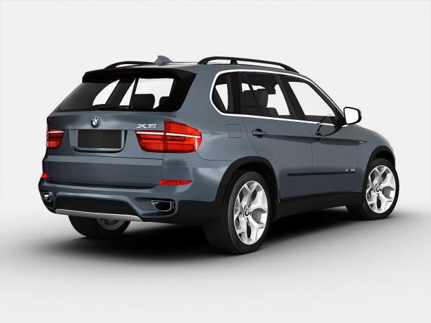 BMW X5 E70 2012 3D Model MAX OBJ 3DS - CGTrader.com