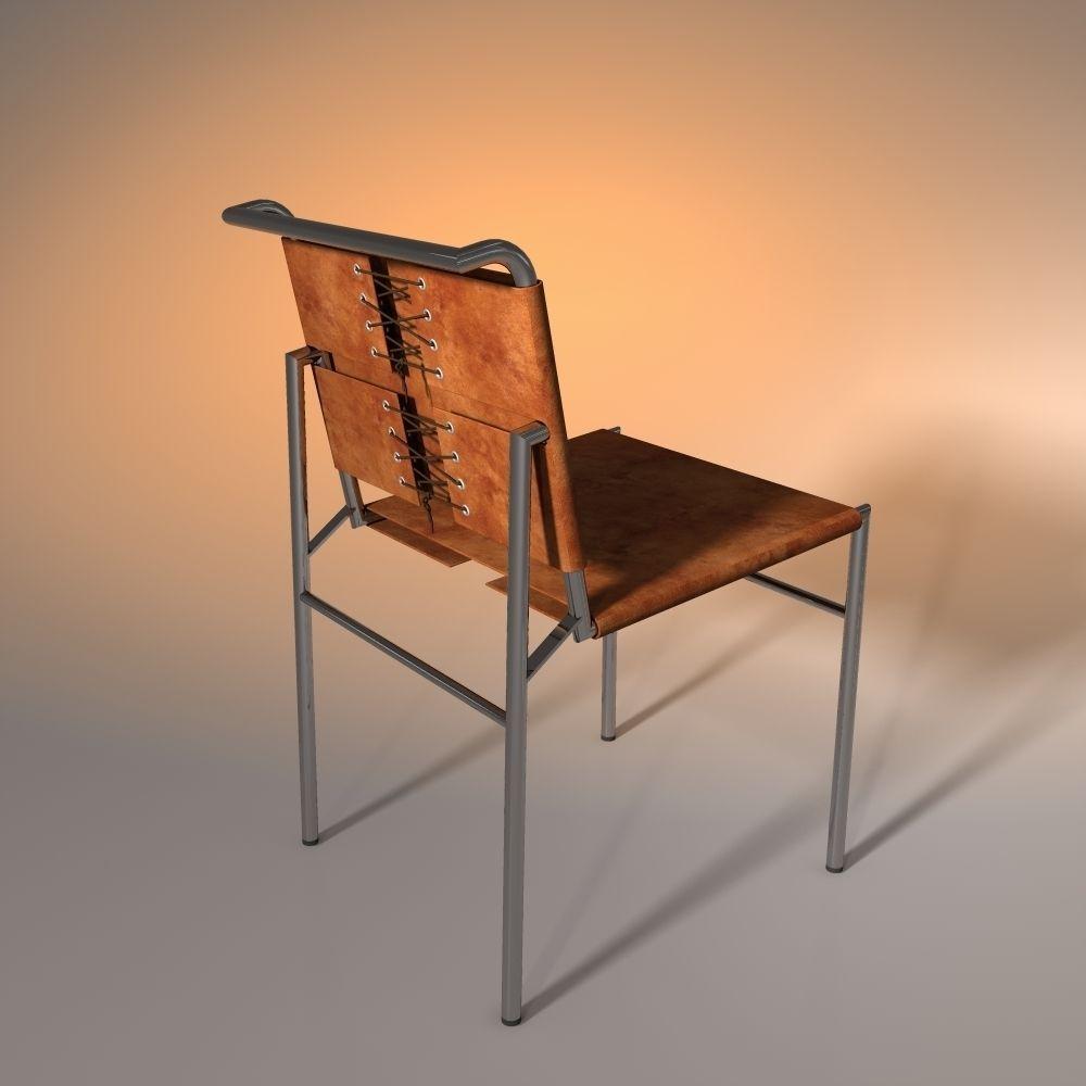 Chair eileen gray 3d model obj 3ds fbx dwg for New model chair design