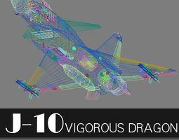 3D Chengdu J-10