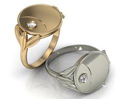 ring coin 3D print model