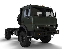 Kamaz 4350 3D Model