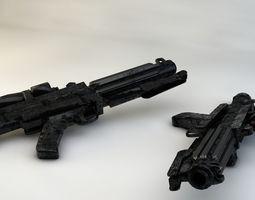 3D model Storm Trooper Blaster
