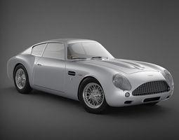 Aston Martin DB4 GT Zagato 3D Model