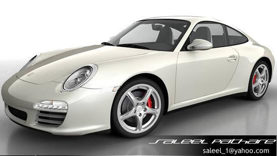 Porsche 911 Carerra 20123D model