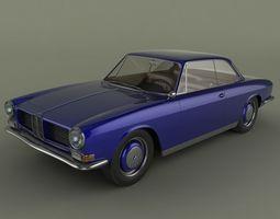 BMW 3200 CS Coupe 3D Model