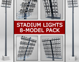 3D Stadium light lux pack